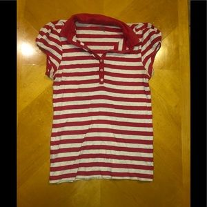 🦋 Red Striped Shirt🦋